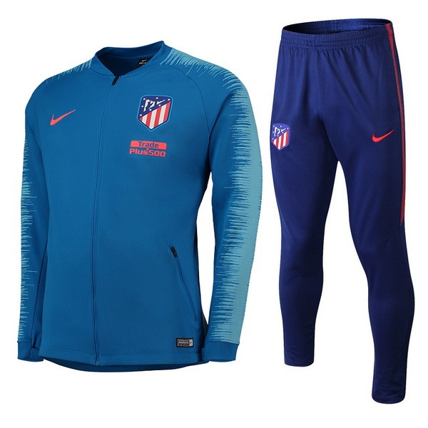 Chandal Atletico Madrid 2018/2019 Rojo Azul Replicas Futbol